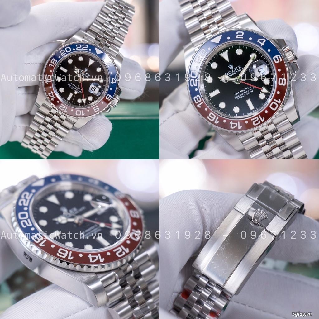 Chuyên đồng hồ Rolex, Omega, Hublot, Patek, JL, Bregue ,Cartier..REPLICA 1:1 AutomaticWatch.vn - 9
