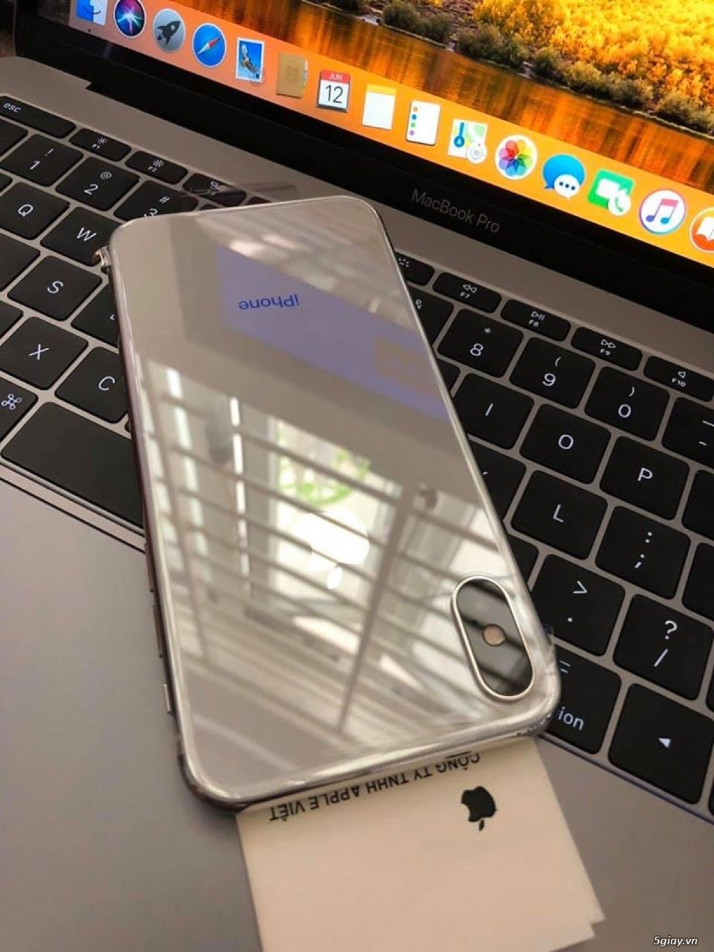 iphone X 64gb silver new 100% TBH chưa active Vn/a only máy - 2