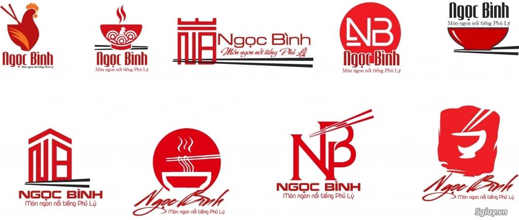 Thiết kế logo 300k, vẽ lại logo, logo áo thun, banner, standee - 1