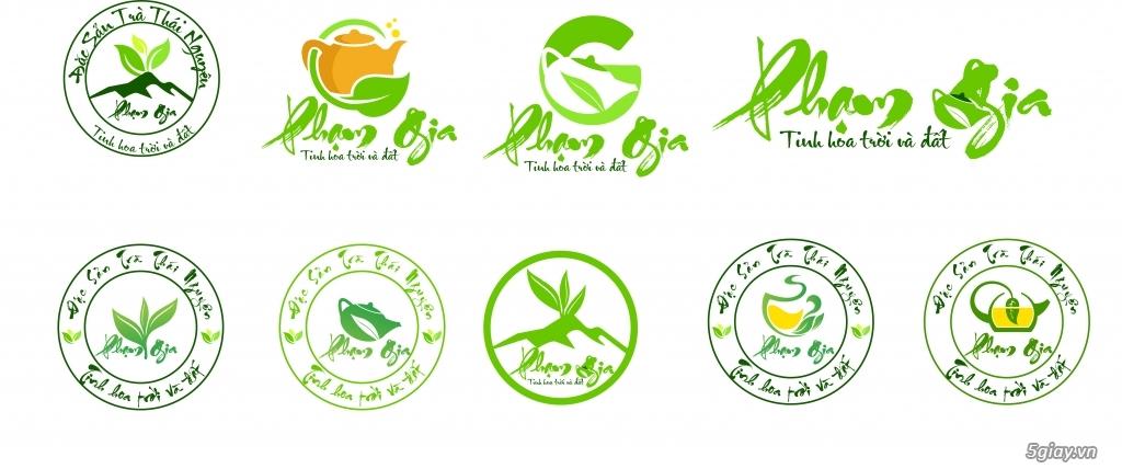 Thiết kế logo 300k, vẽ lại logo, logo áo thun, banner, standee - 3