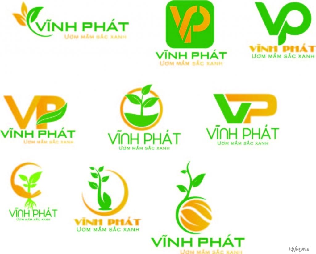 Thiết kế logo 300k, vẽ lại logo, logo áo thun, banner, standee - 2