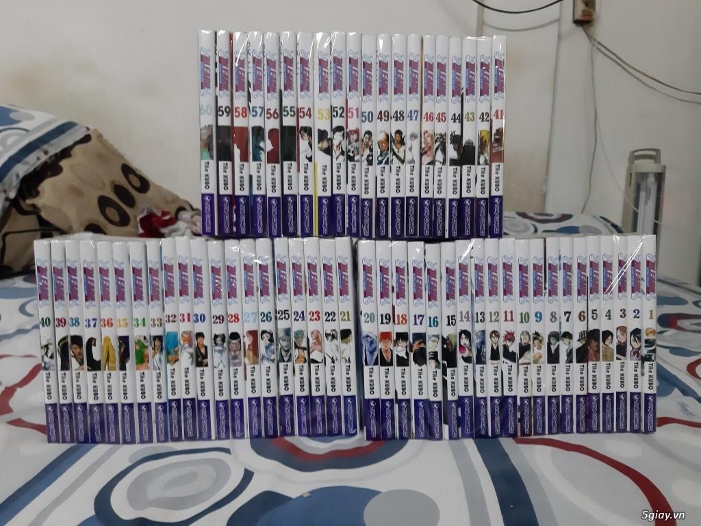 Kiếm tiền ăn tết bán bộ Bleach của TVM (60 tập)