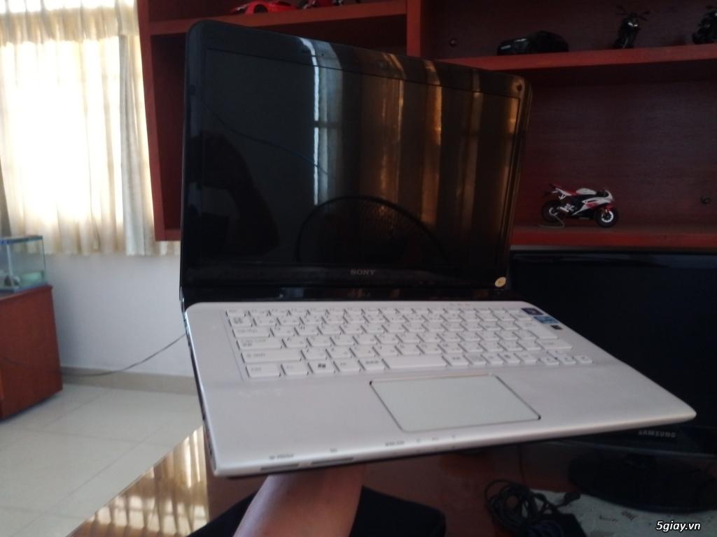 Laptop Sony Vaio nội địa Nhật - Sony Vaio SVE14 Trắng - 2