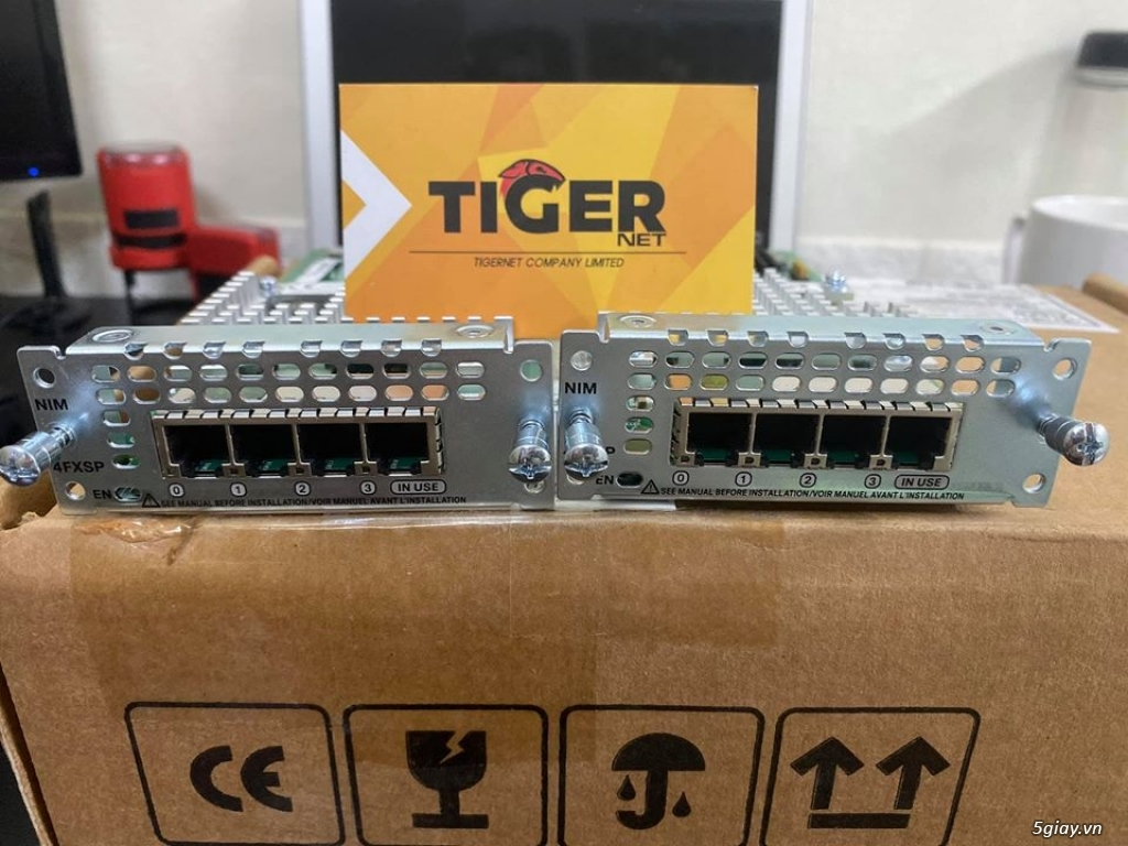 Thiết bị định tuyến (router) Cisco siêu rẻ! Bảo hàng 06 - 12 tháng! - 27