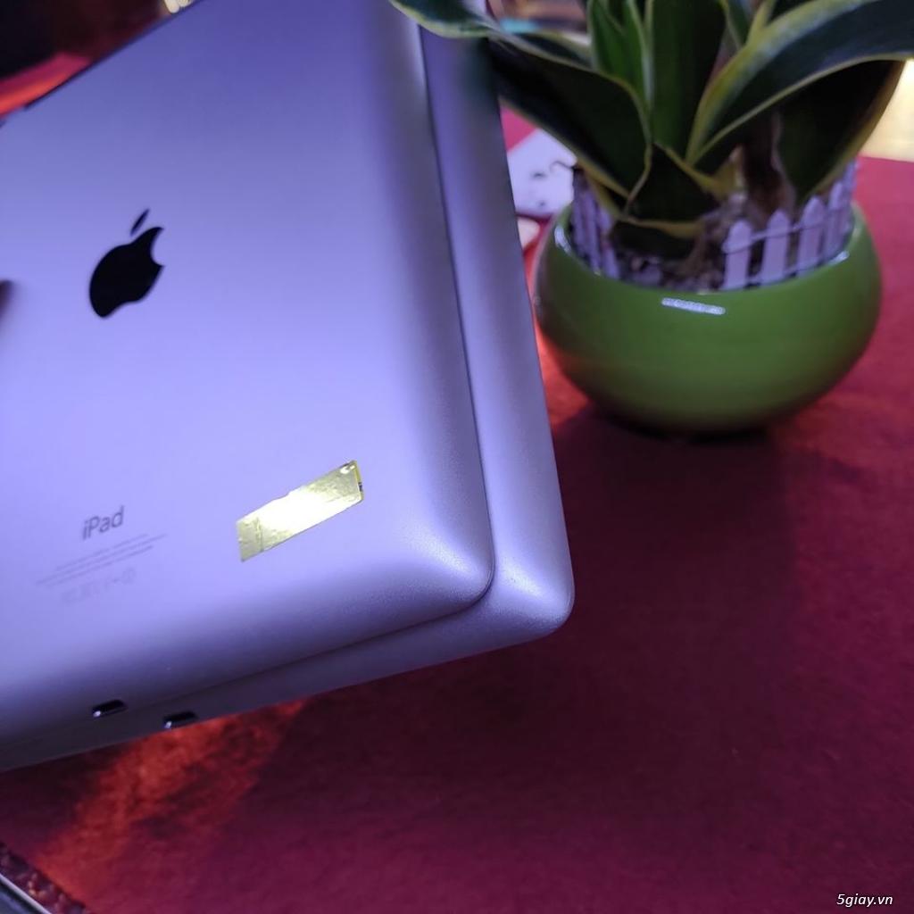 Ipad 4 16G bản wifi + 4G đẹp 99% zinall chưa bung - 1