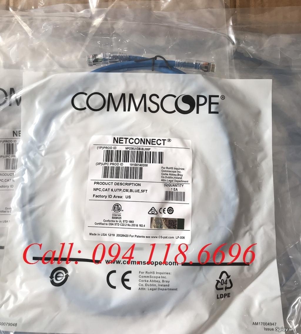 Dây nhảy Patch Cord Commscope Cat6 1.5m mã 1859247-5