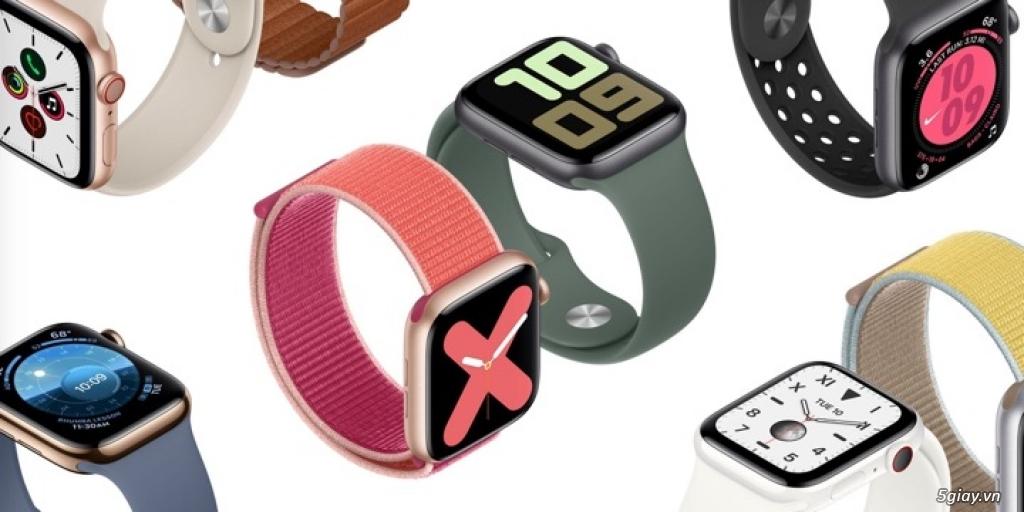 Đầy đủ các mẫu Đồng Hồ thông minh Apple Watch tại 9TECH.VN
