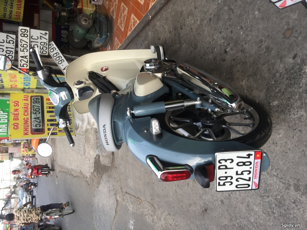 Gò ép biển số xe ôtô xe máy - 4