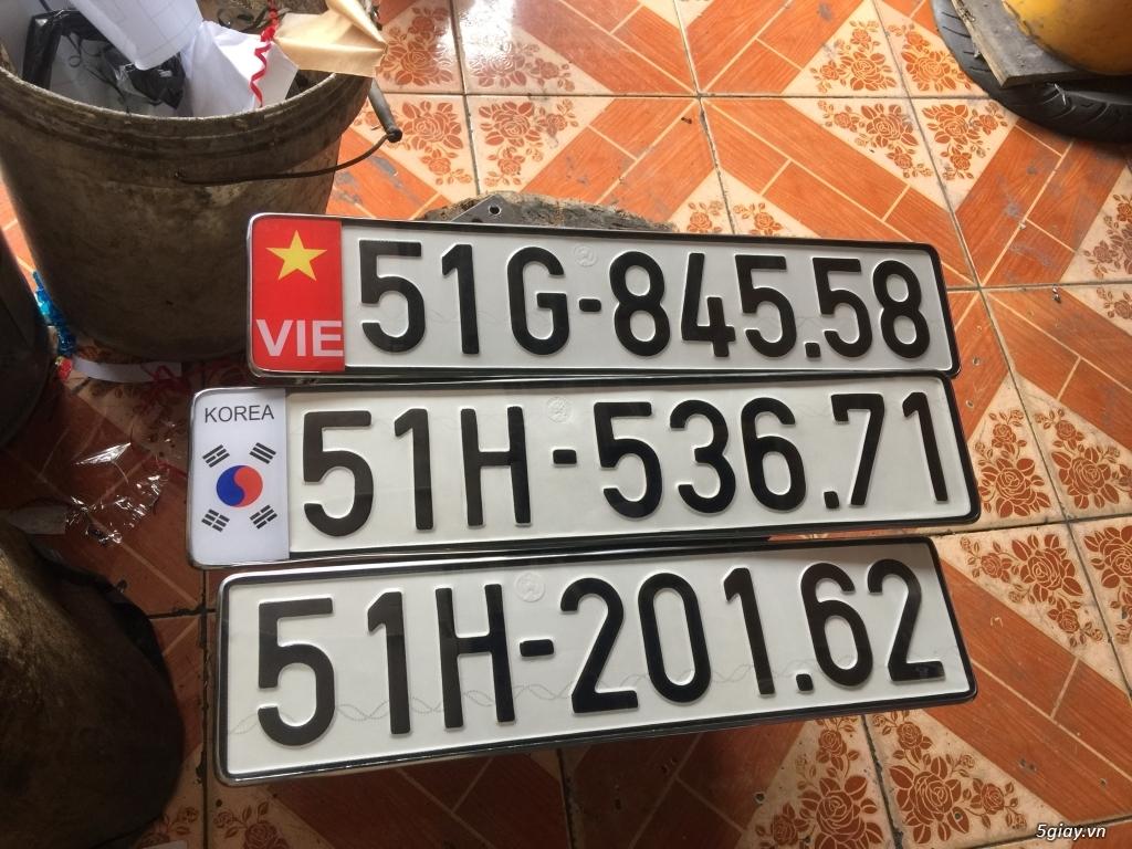 Gò ép biển số xe ôtô xe máy - 3