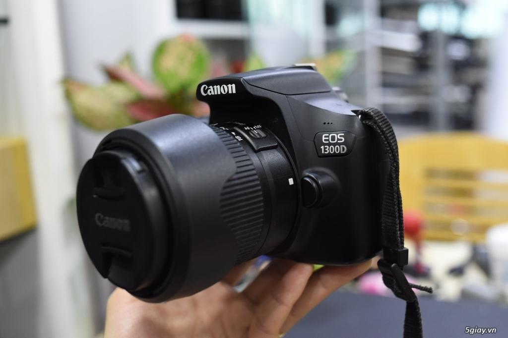 Tổng hợp các dòng máy ảnh Canon - Nikon - Sony dành cho người mới