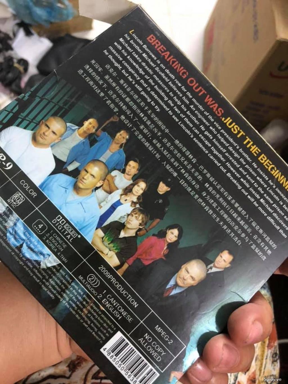 Bộ dvd vượt ngục ss1-4 tổng 11 đĩa giá 200k - 2