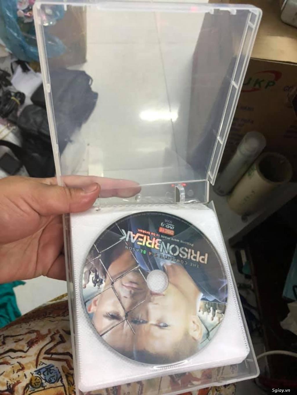 Bộ dvd vượt ngục ss1-4 tổng 11 đĩa giá 200k