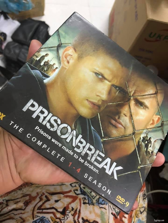 Bộ dvd vượt ngục ss1-4 tổng 11 đĩa giá 200k - 4
