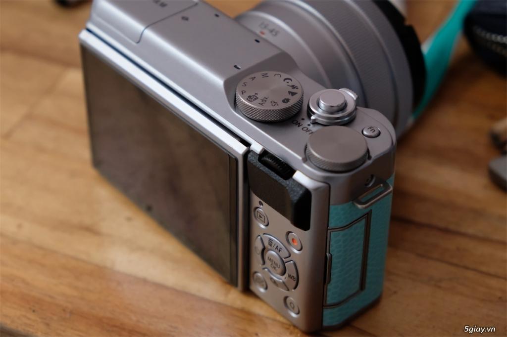 Q1-HCMC - Cần bán Fujifilm XA-20 màu xanh + kit BH hãng đến 11/2021 - 4
