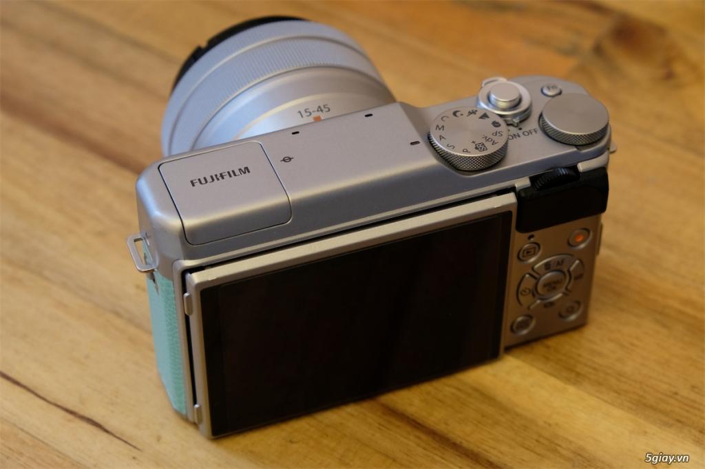 Q1-HCMC - Cần bán Fujifilm XA-20 màu xanh + kit BH hãng đến 11/2021 - 3
