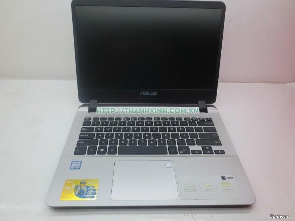 Laptop cũ ASUS X407U Core I3-7020U- Ram 4GB- HHD 1TB VGA HD Graphics