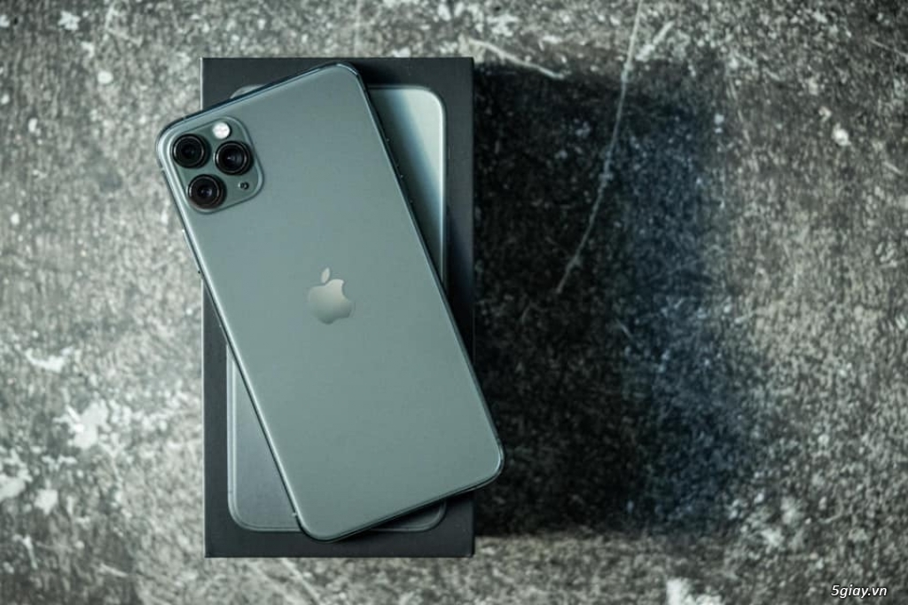 Iphone 11 Pro Max 64GB Midnight Green VN/A TGDĐ - 1