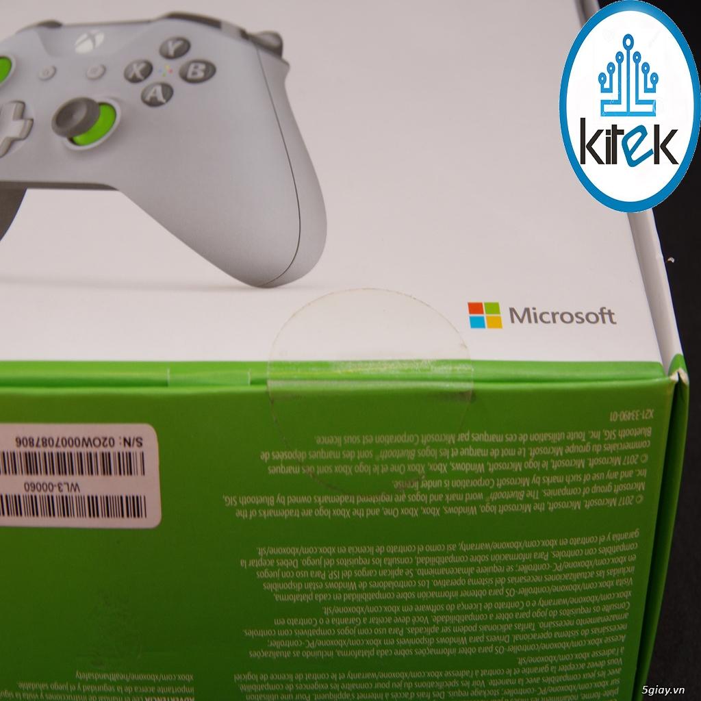 Tay cầm Xbox One S Wireless Controller - Grey Green (SEALED) NEW 100% - 6