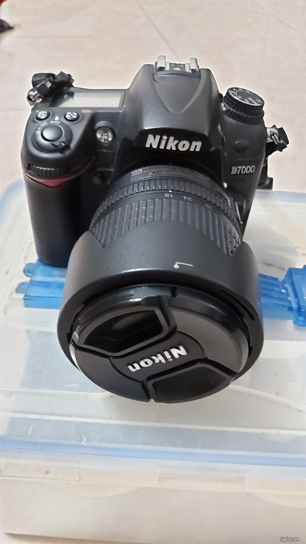 Cần bán máy NIKON D7000 + Lens - 4