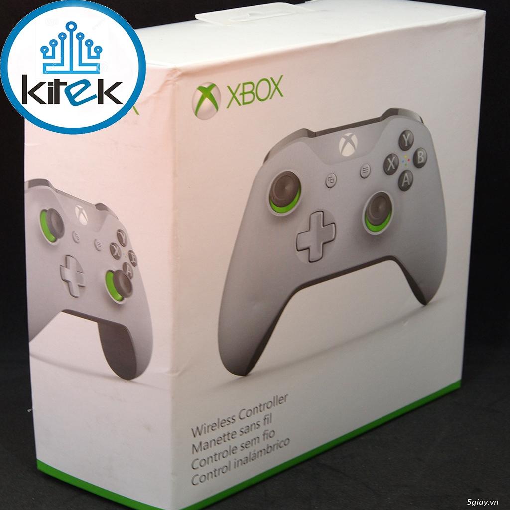 Tay cầm Xbox One S Wireless Controller - Grey Green (SEALED) NEW 100% - 4