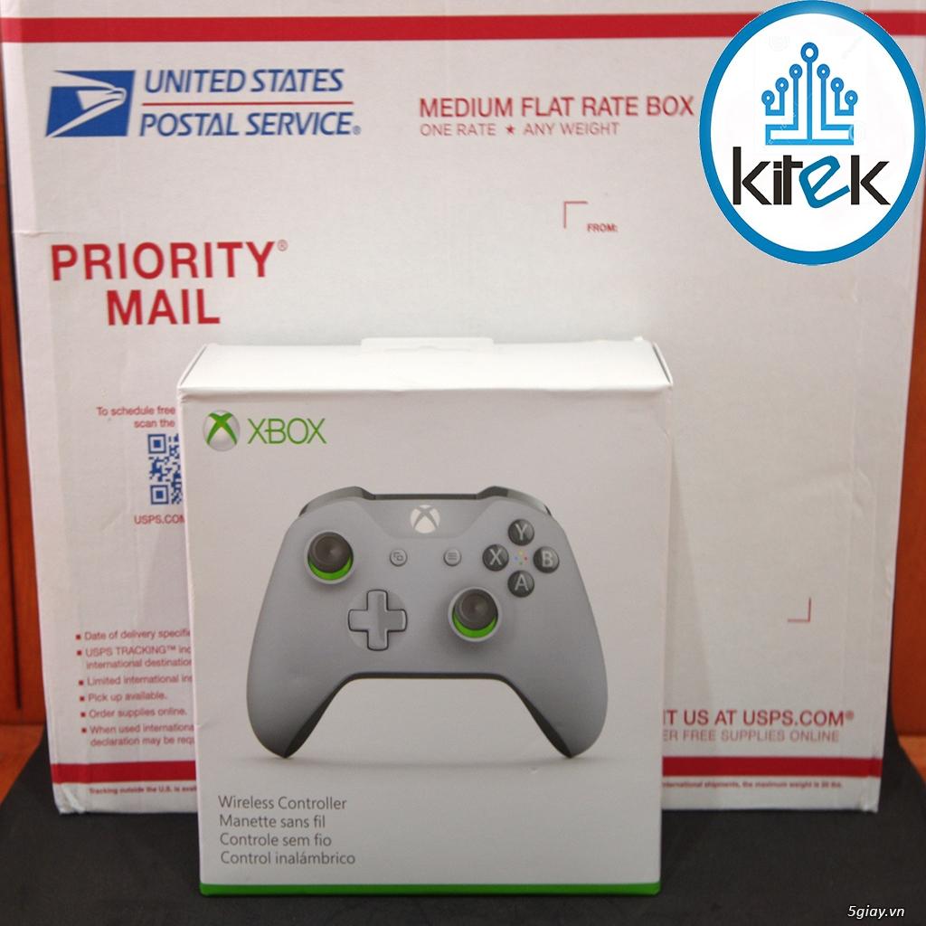 Tay cầm Xbox One S Wireless Controller - Grey Green (SEALED) NEW 100%