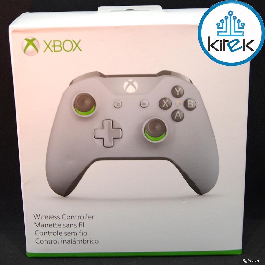 Tay cầm Xbox One S Wireless Controller - Grey Green (SEALED) NEW 100% - 5