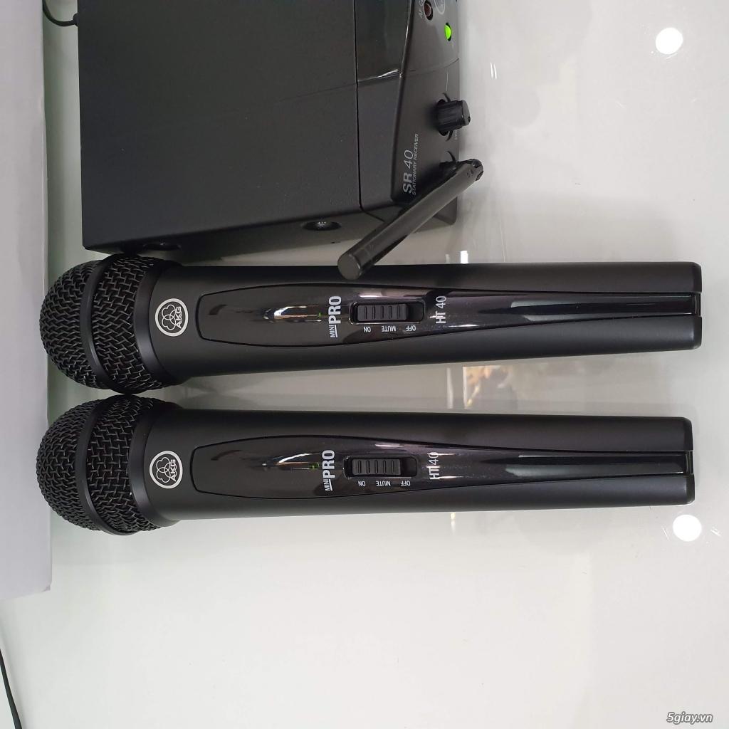 Bán bộ Micro không dây AKG WMSR40 MiniPro2 chính hãng còn bảo hành
