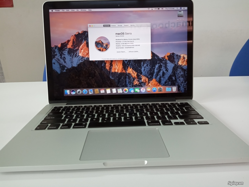 Cần bán: Macbook Pro 13'' 2015 MF840 99% i5/8GB/256GB - 4