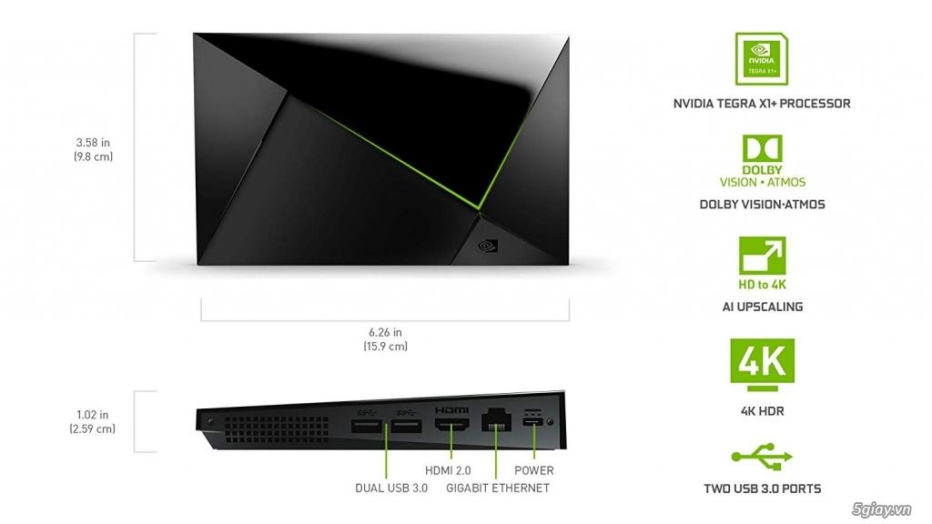 NVIDIA Shield TV Pro 4K HDR 2019 / 16GB - 3