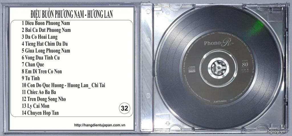 Đĩa Nhạc CD Phono Mitsubishi Chất Lượng Cao - 36
