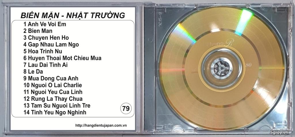 Đĩa Nhạc CD Phono Mitsubishi Chất Lượng Cao - 25