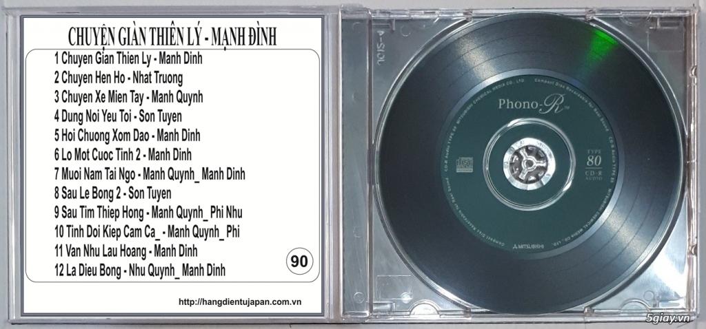 Đĩa Nhạc CD Phono Mitsubishi Chất Lượng Cao - 35
