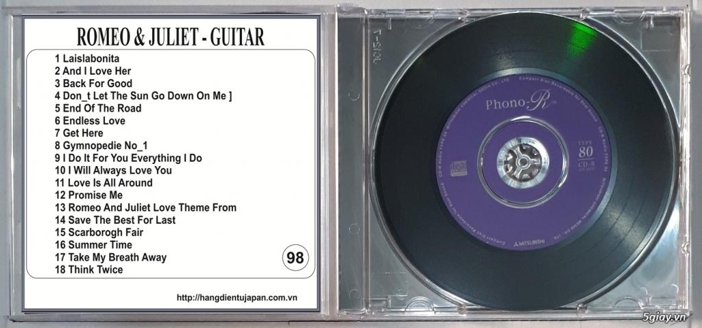 Đĩa Nhạc CD Phono Mitsubishi Chất Lượng Cao - 45