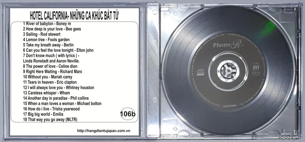 Đĩa Nhạc CD Phono Mitsubishi Chất Lượng Cao - 11
