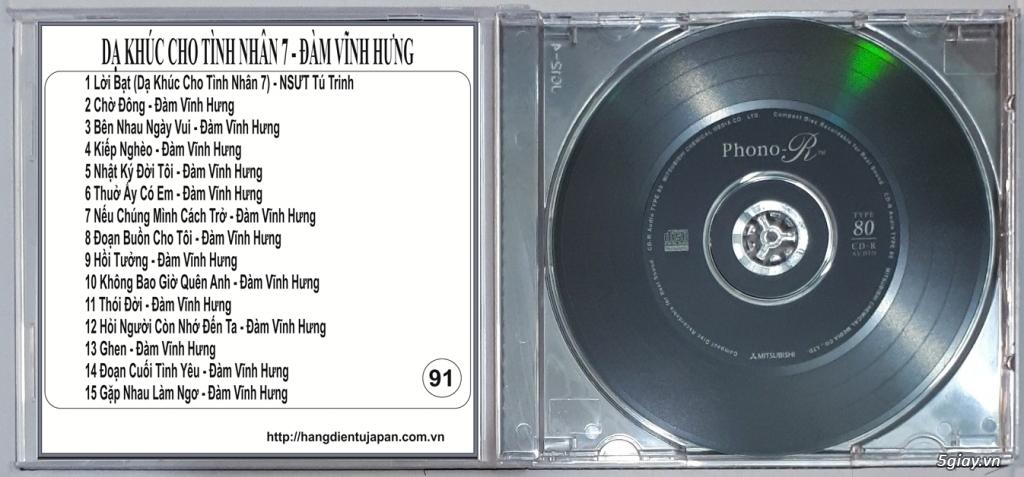 Đĩa Nhạc CD Phono Mitsubishi Chất Lượng Cao - 39
