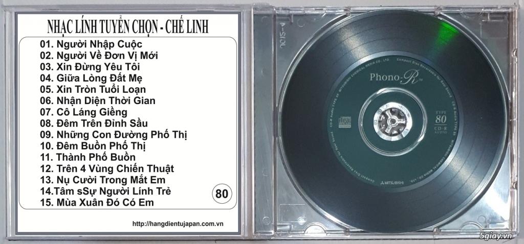 Đĩa Nhạc CD Phono Mitsubishi Chất Lượng Cao - 27