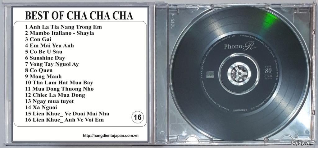 Đĩa Nhạc CD Phono Mitsubishi Chất Lượng Cao - 21