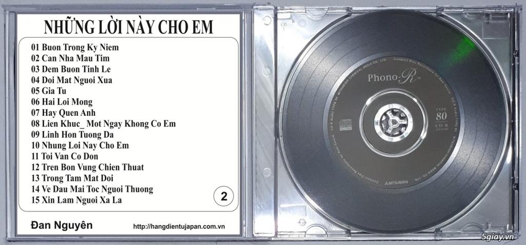 Đĩa Nhạc CD Phono Mitsubishi Chất Lượng Cao - 4
