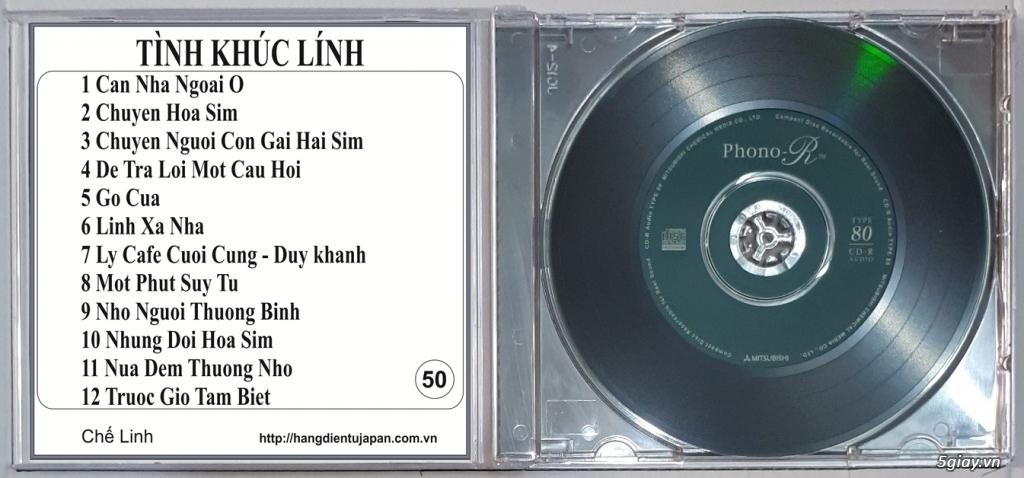 Đĩa Nhạc CD Phono Mitsubishi Chất Lượng Cao - 48