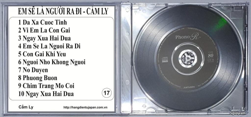 Đĩa Nhạc CD Phono Mitsubishi Chất Lượng Cao - 17