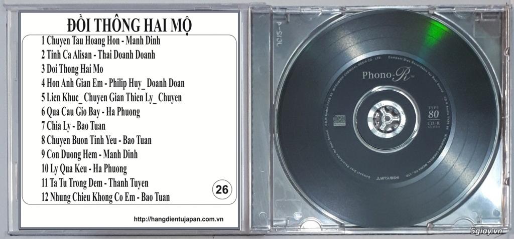 Đĩa Nhạc CD Phono Mitsubishi Chất Lượng Cao - 28