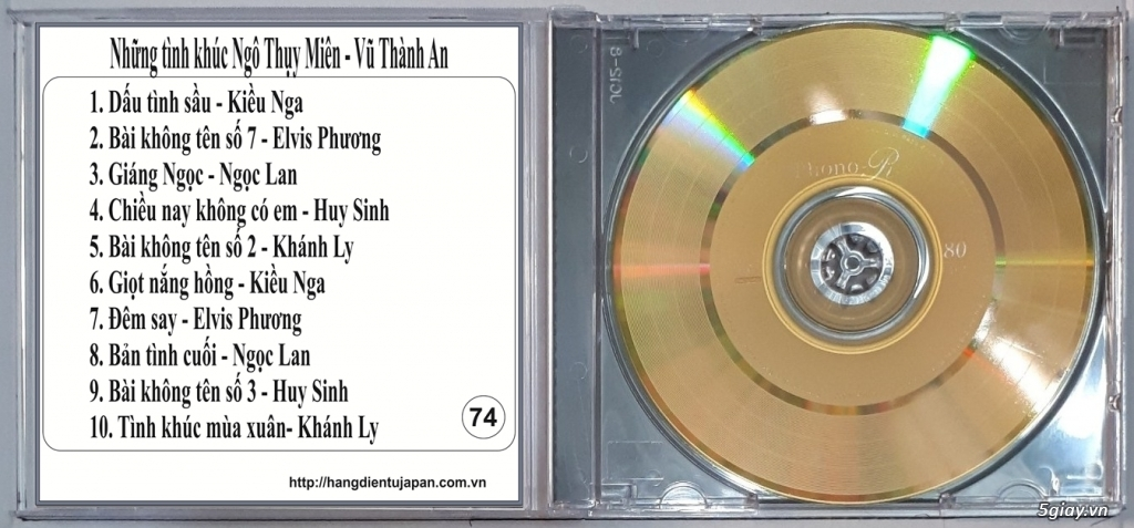 Đĩa Nhạc CD Phono Mitsubishi Chất Lượng Cao - 20
