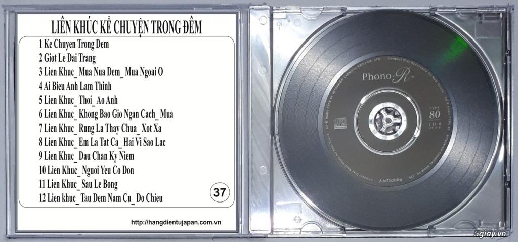 Đĩa Nhạc CD Phono Mitsubishi Chất Lượng Cao - 41