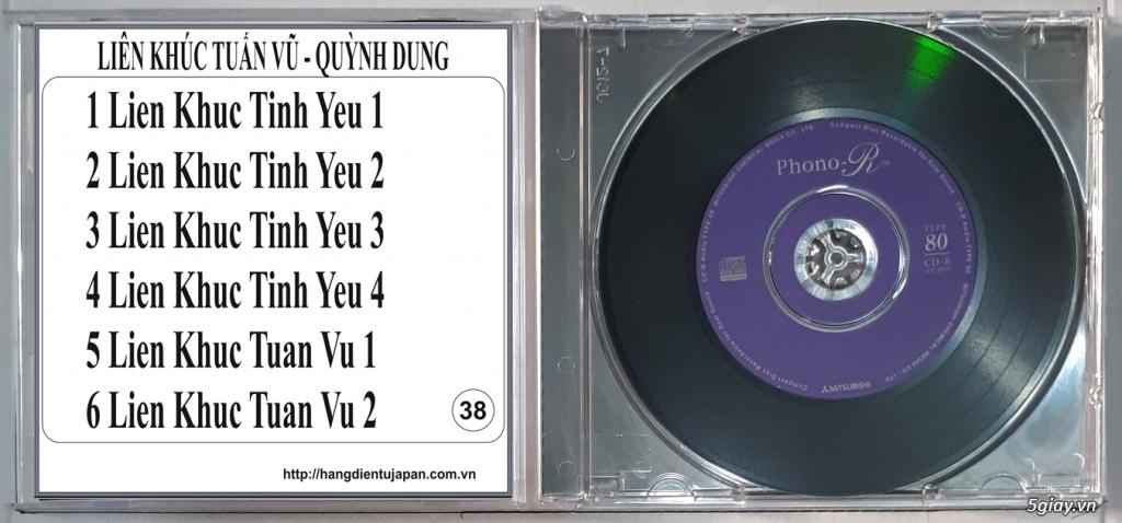 Đĩa Nhạc CD Phono Mitsubishi Chất Lượng Cao
