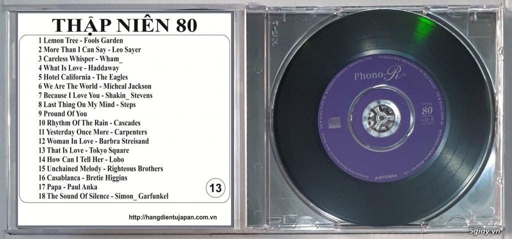 Đĩa Nhạc CD Phono Mitsubishi Chất Lượng Cao - 13