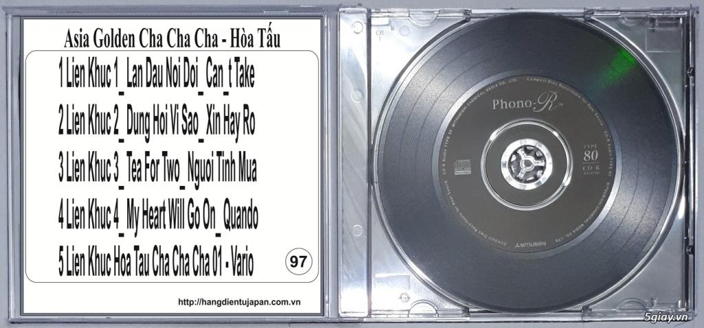Đĩa Nhạc CD Phono Mitsubishi Chất Lượng Cao - 44