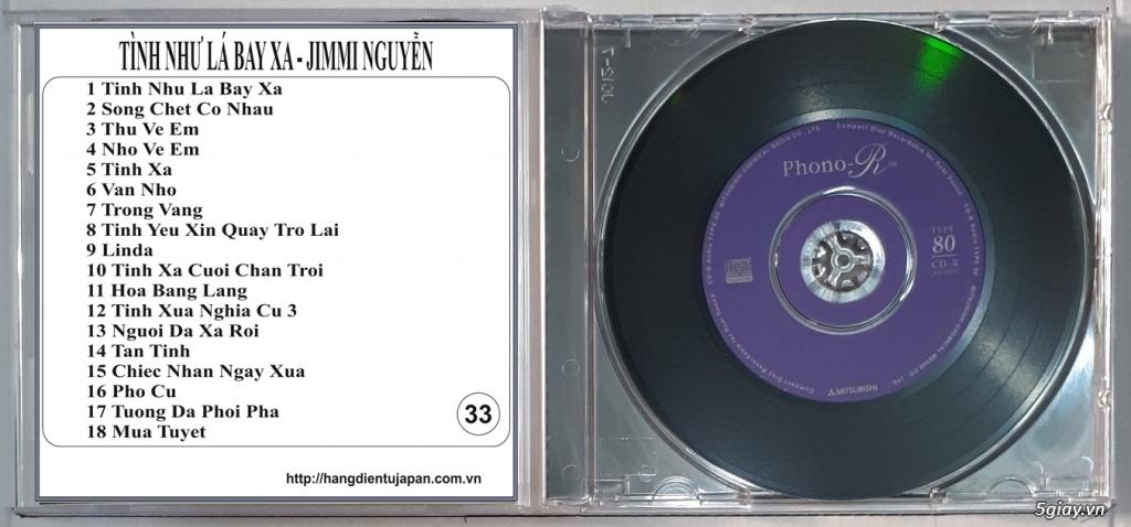 Đĩa Nhạc CD Phono Mitsubishi Chất Lượng Cao - 33