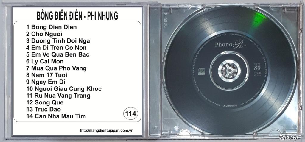 Đĩa Nhạc CD Phono Mitsubishi Chất Lượng Cao - 18