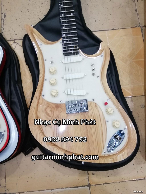 Bán đàn guitar điện cổ nhac - guitar điện vọng cổ giá rẻ tphcm - 5