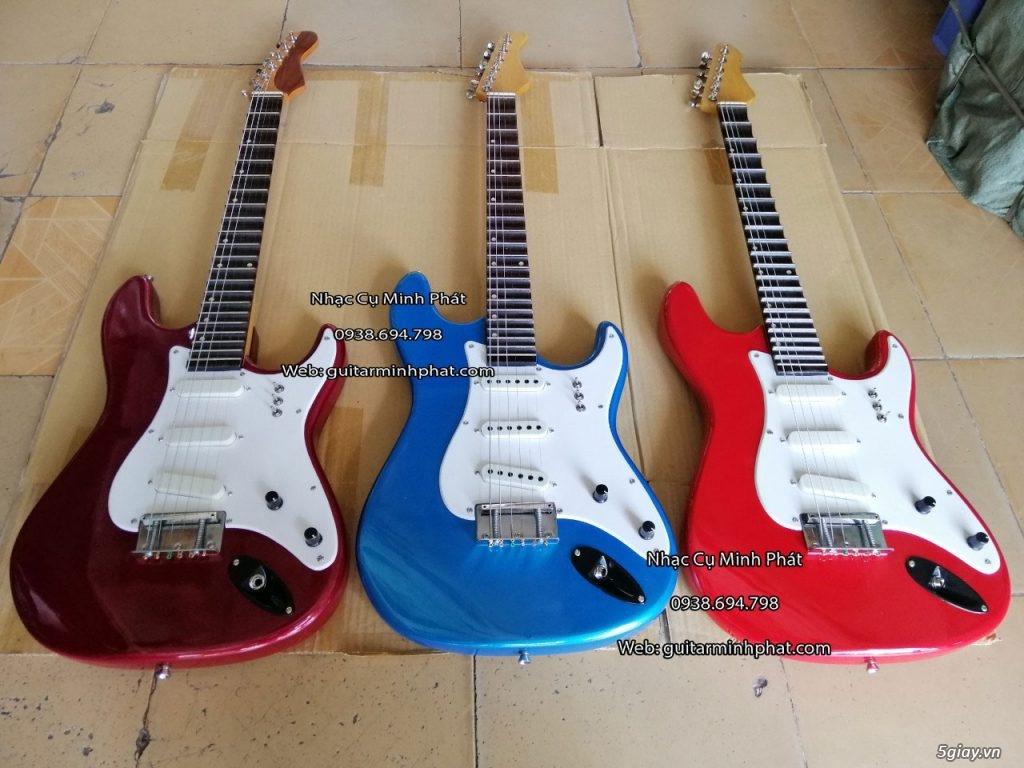 Bán đàn guitar điện cổ nhac - guitar điện vọng cổ giá rẻ tphcm - 11
